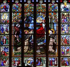 le Folgoët, basilique, vitrail