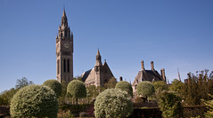 England - Cheshire - Eaton Hall - Chapel and Clock Tower - 24th April 2011 -12.jpg