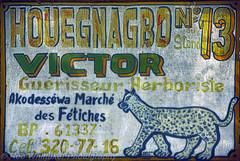 Victor Voodoo Fetich Togo Signs