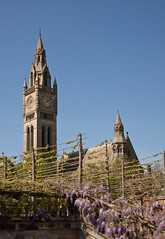 England - Cheshire - Eaton Hall - Chapel and Clock Tower - 24th April 2011 -7.jpg