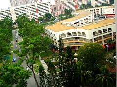 Jurong East (裕华) HDB flats cum shophouses