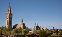 England - Cheshire - Eaton Hall - Chapel and Clock Tower - 24th April 2011 -8.jpg