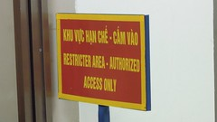 """Restricter Area"", Noi Bai International Airport, Hanoi"