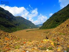 Cañón del Río Lagunillas-Vista desde el Nevado del Ruiz