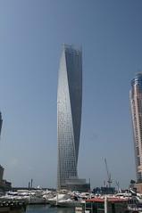 Cayan Tower (Inifinity Tower) Dubai Marina