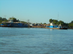 Ferry over the river Gambia(1)