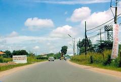 Road to Tân Sơn Nhất International Airport
