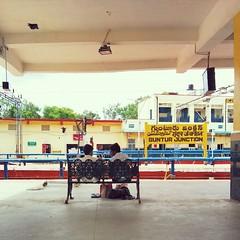 And, our #train is delayed. #Guntur #Indian #Railways #wedding #travel