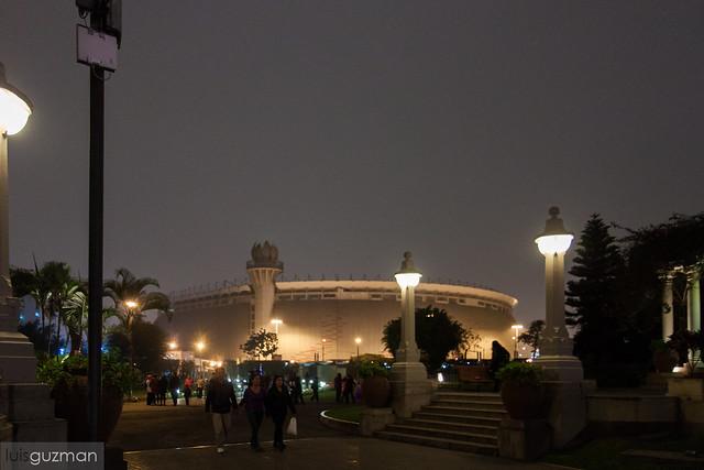 Vista del Estadio Nacional de Perú