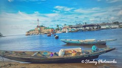 Débarcadère de Kribi. Capture with #TecnoPhantom6Plus  #stanleyphotoworks #kribi #landscapephotography #seaside #fishspot #beach
