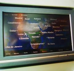 De Adis Abeba a Lomé, são umas 5,5 h de vôo.