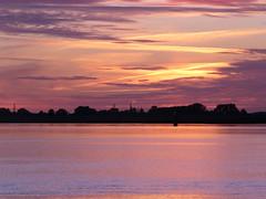 River Ems - twilight hour