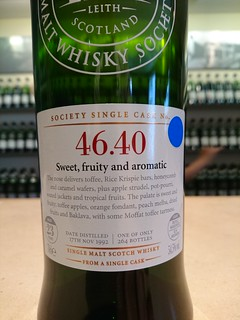 SMWS 46.40 - Sweet, fruity and aromatic