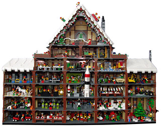 SantasWorkshopAdventCalendar-Full | by brick_a_brad