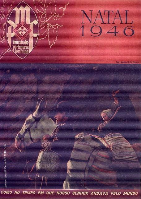 Mocidade Portuguesa Feminina, Nº 92, Dezembro 1946 - capa