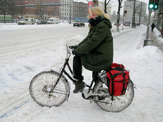 Another Country - Winter Cycling in Copenhagen | by Mikael Colville-Andersen