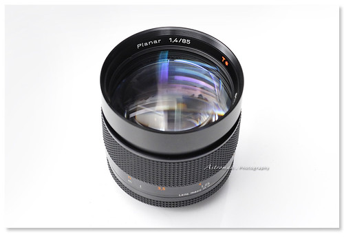 Contax Carl Zeiss Planar T* 85mm f/1.4 AEG | by Astroman Photography