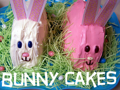 DIY: bunny cakes | by amylcluck