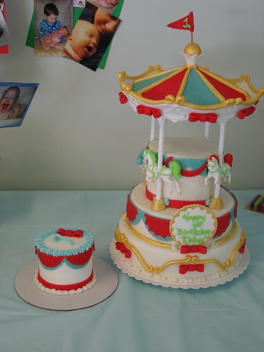 Carousel Birthday Cake Ideas