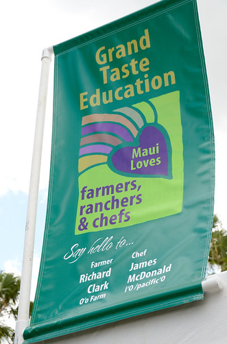 Grand Taste Education at #MauiAgFest | by Slow Food Maui