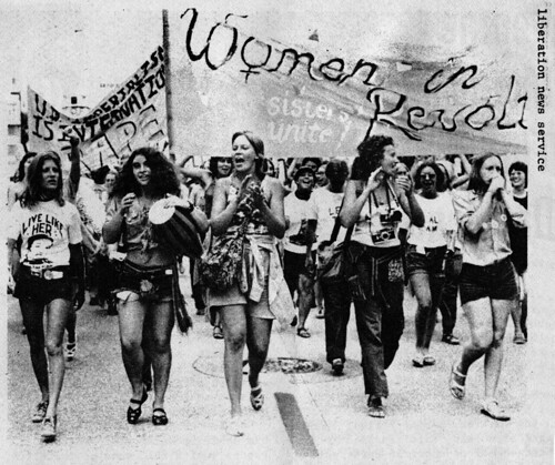 Women March Against Nixon: 1972
