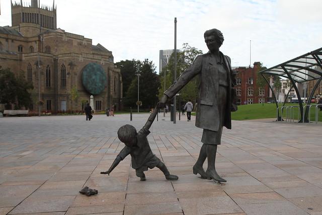Grandmother and Child, Blackburn