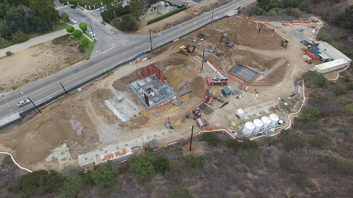 Civic Center Wastewater Treatment Facility Construction Progress - Sept. 22, 2016