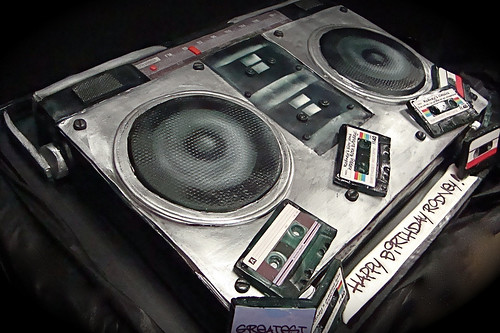 boom box cake 2 | by debbiedoescakes