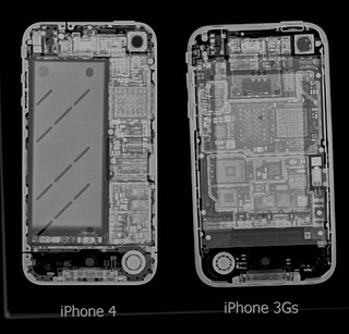 Apple iPhone 4 vs iPhone 3GS X-ray | by Eloise Claire