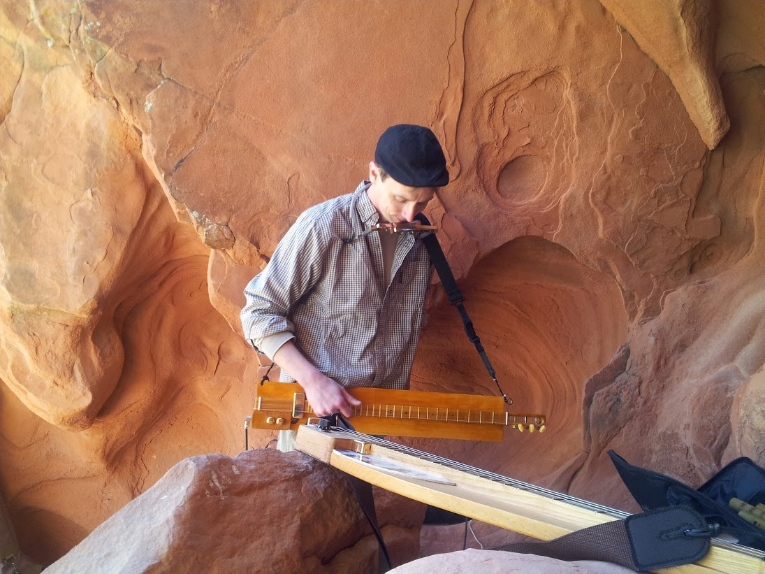 Michael Futreal, Artist at Red Rock Canyon