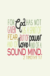 2 Timothy 1:7 | by lizzaeh