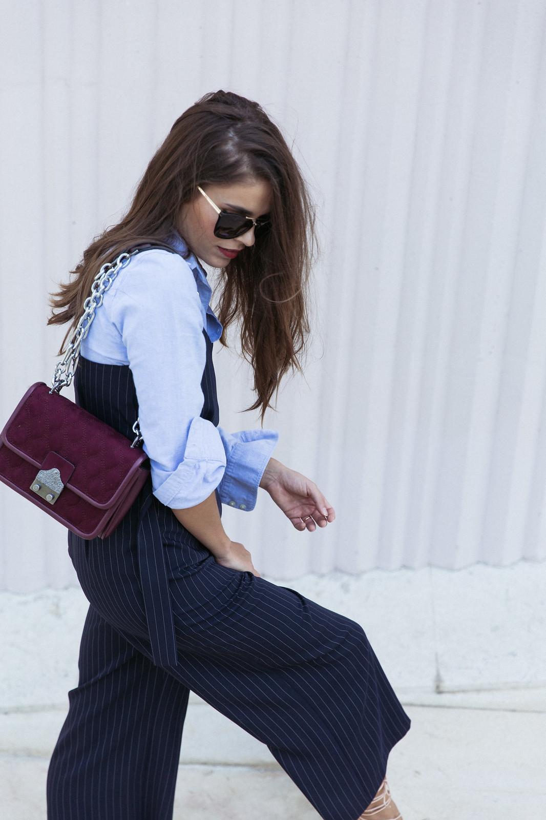 Jessie Chanes Seams for a desire - Pinstripped suit topshop heeled sandals schutz parfois bag  -15