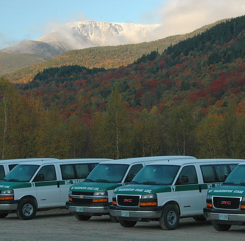 The fall colors and the stage coaches. | by Mt.Washington Auto Road