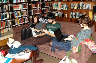 Studying with Friends | by Crossett Library Bennington College