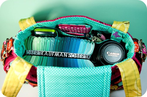 Swap Handbag - capacity shot | by TinyApartmentCrafts