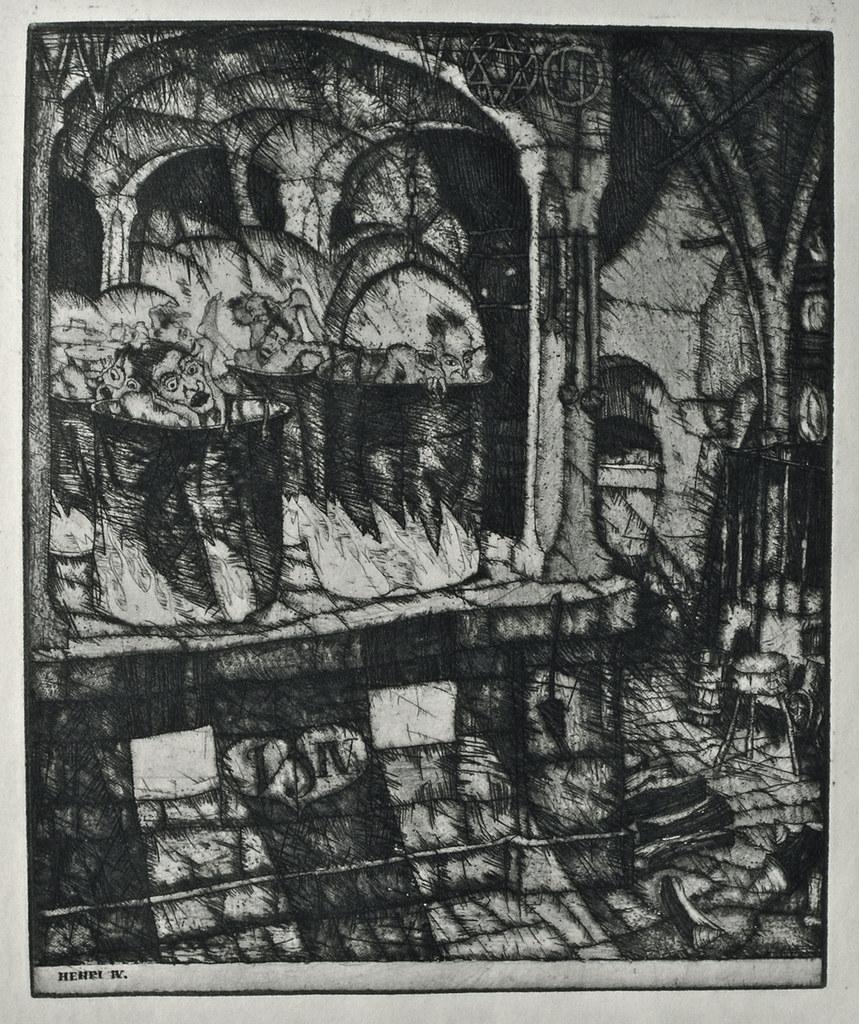 Stefan Eggeler - Illustrations for Hanns Heinz Ewers's Die Herzen der Könige, 1922 (2)