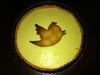 For @themattharris' 1yr at Twitter I made him a lemon tart | by cindyli