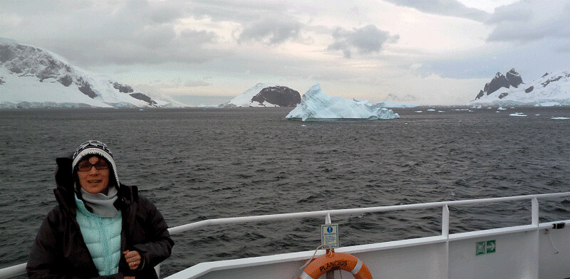 Arriving in Antarctica, Day 1
