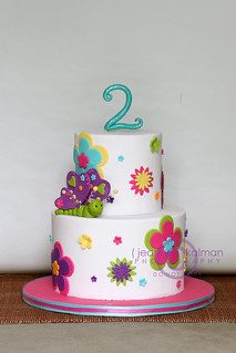 Happy 2nd Birthday Brynn... | by The Well Dressed Cake