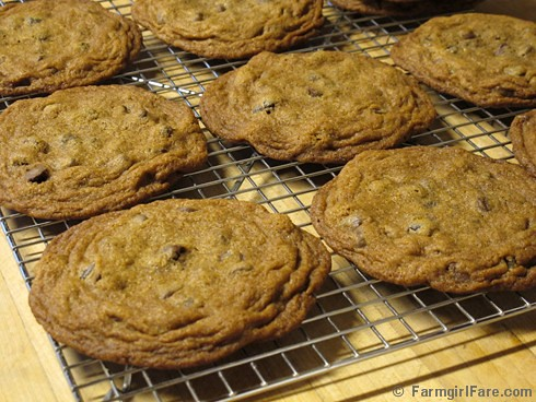 Big, Soft, and Chewy Whole Wheat Chocolate Chip Raisin Cookies | by Farmgirl Susan