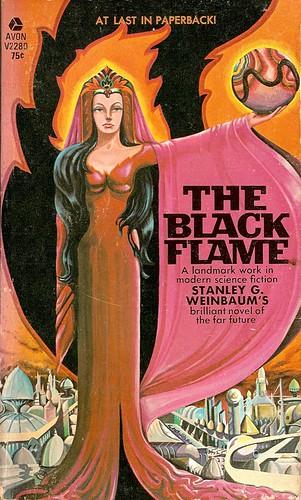Stanley Weinbaum - The Black Flame (Avon 1969)