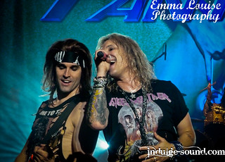 Michael Starr & Satchel, Steel Panther | by Emma.Louise.Photography