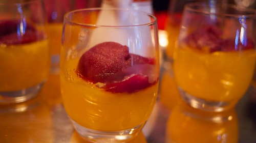 Clementine Jelly with Mulled Wine Sorbet | Flickr - Photo Sharing!