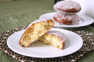 Vanilla Cream-Filled Doughnuts | by Tracey's Culinary Adventures