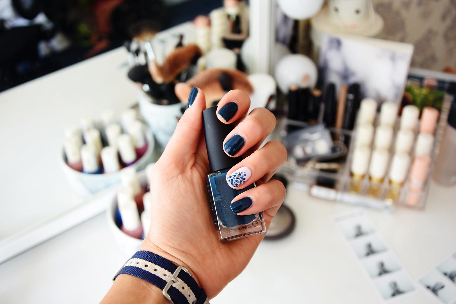 Kinetics nail polish manicure