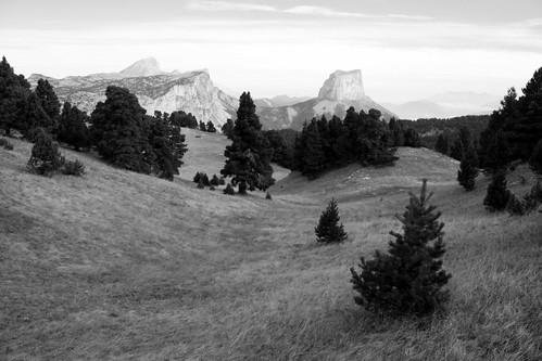 Le Mont Aiguille toujours en vue