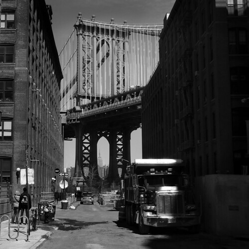Once upon a time in America @ DUMBO, NYC | USA | by fabiengelle