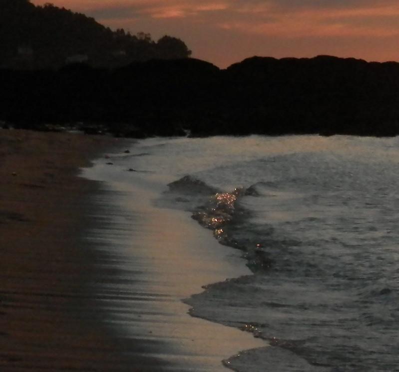 Última luz de la ola