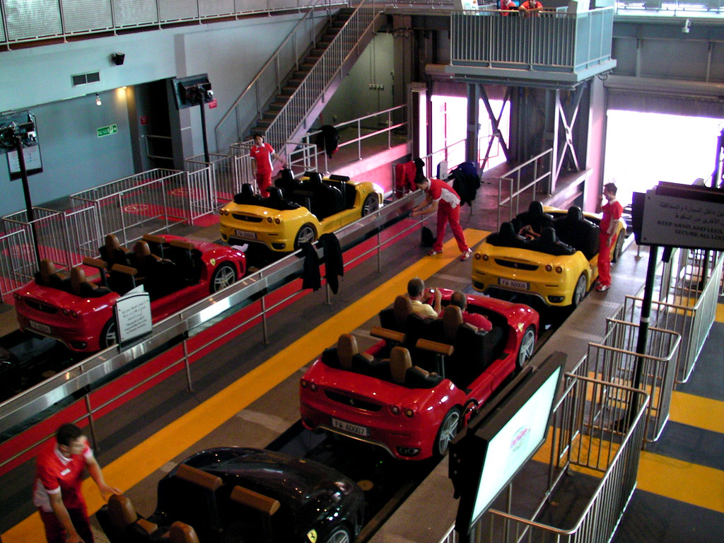 5 Exclusive Experiences to be had at Ferrari World in Abu Dhabi