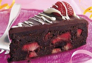 Fudge Lover's Strawberry Truffle Cake Recipe | by Betty Crocker Recipes